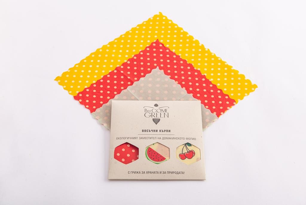 Разнообразие на опаковките BeeCome Green