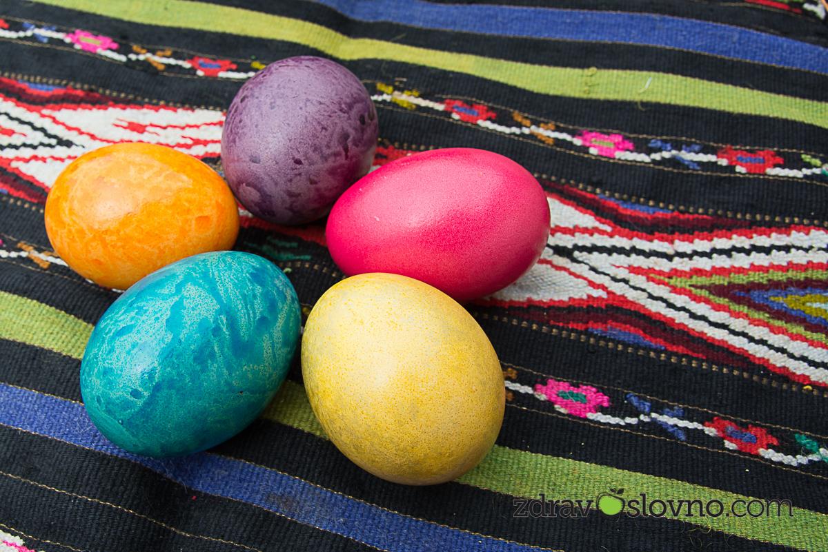 Великденски яйца - Здравословно