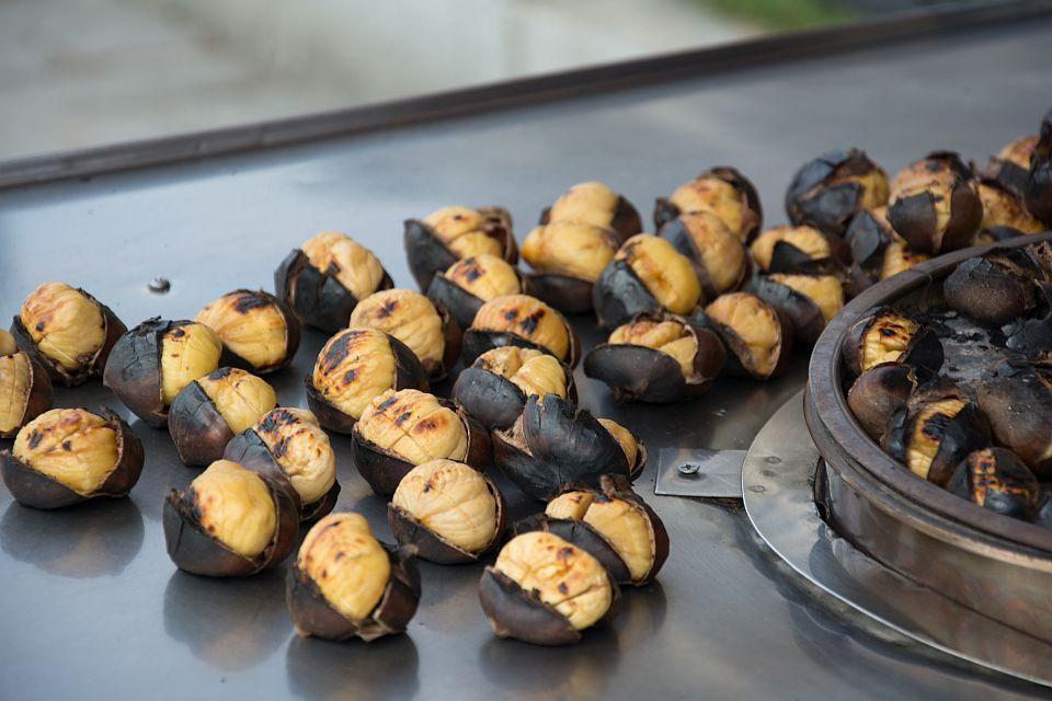 Печени кестени в Турция