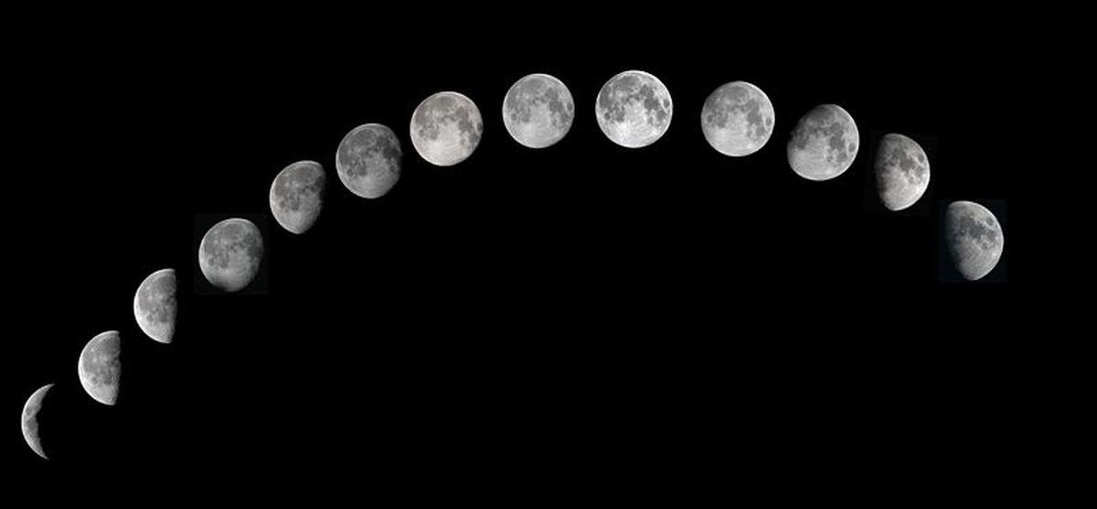 Фази на Луната за 2017 година