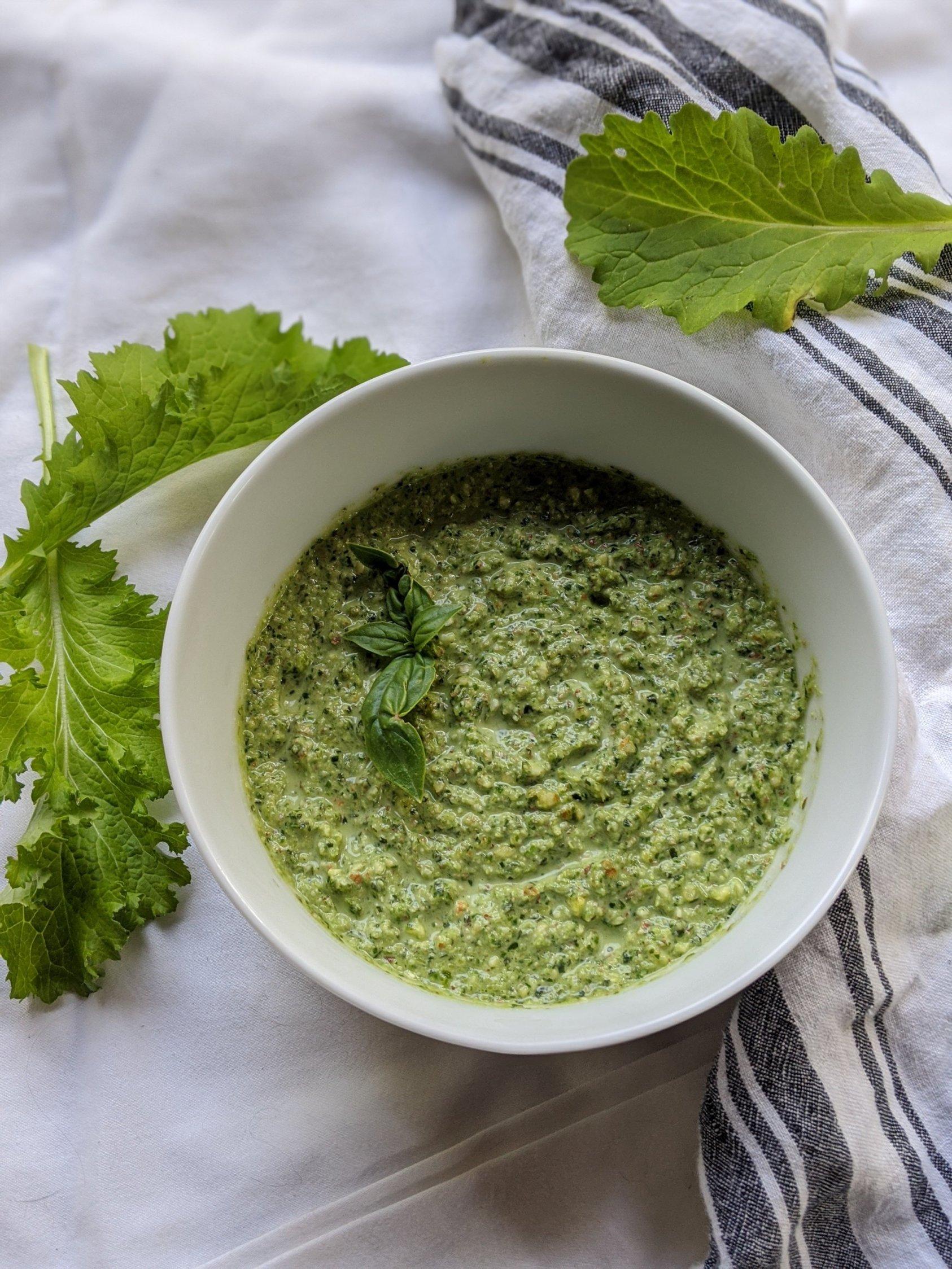 Mustard paleo pesto / Синапено песто - рецепта