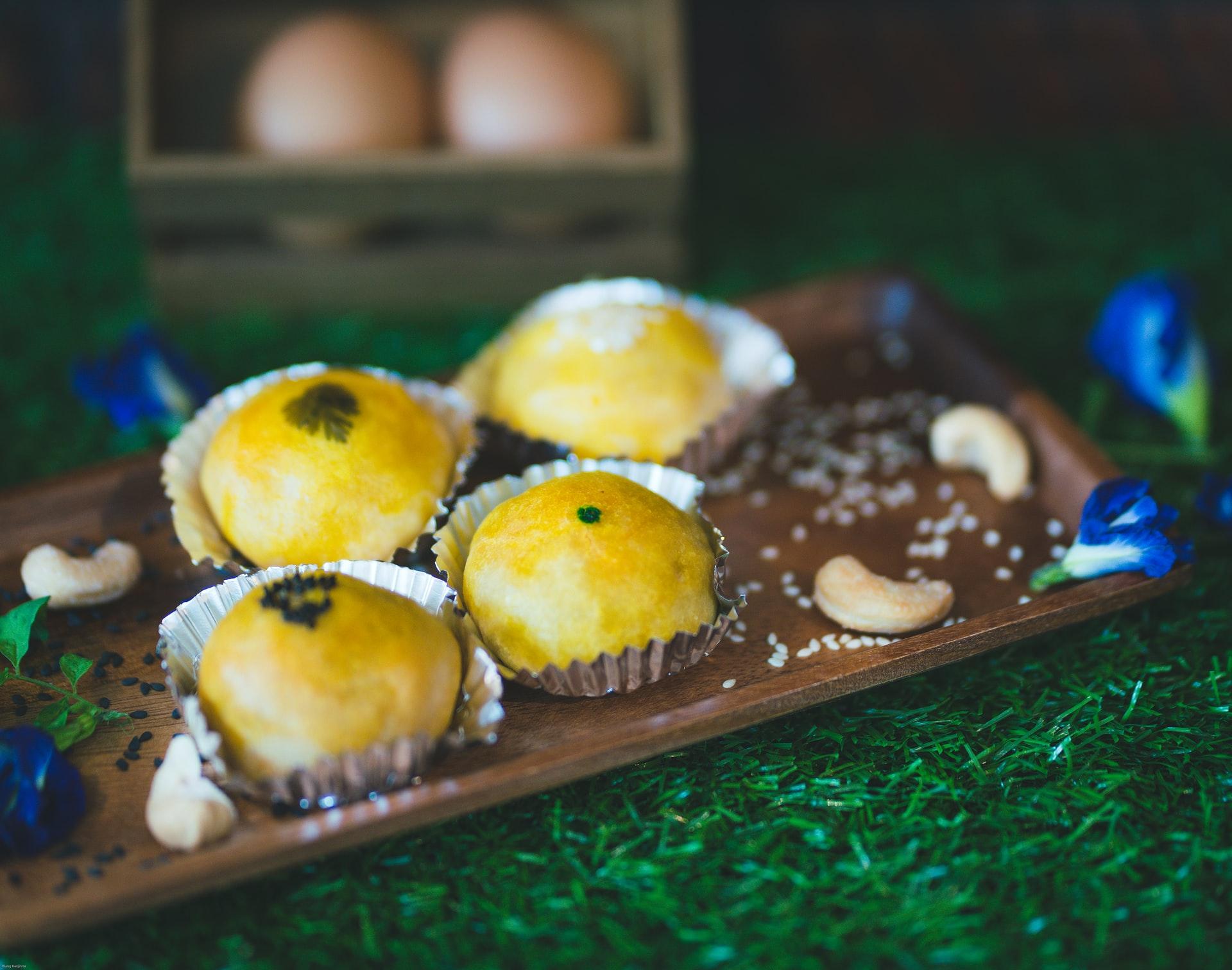 Мъфини от яйца