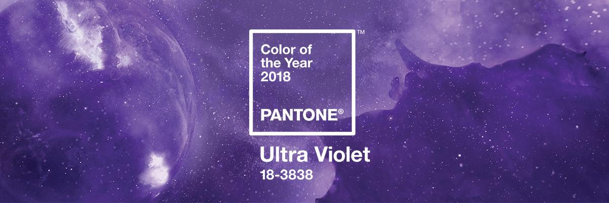 Цвят на 2018 - ултравиолетово