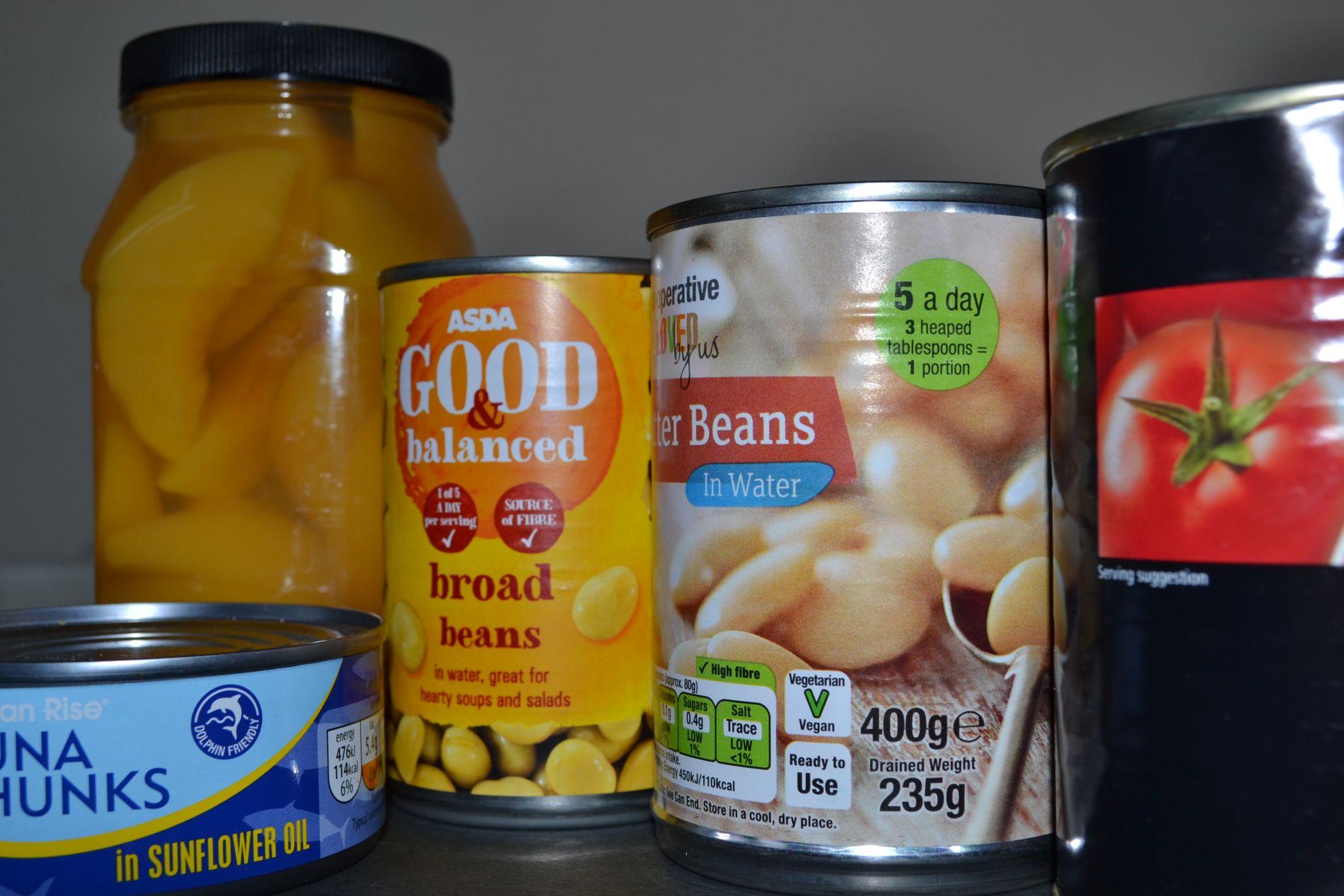 Кои консервирани храни са полезни за децата?