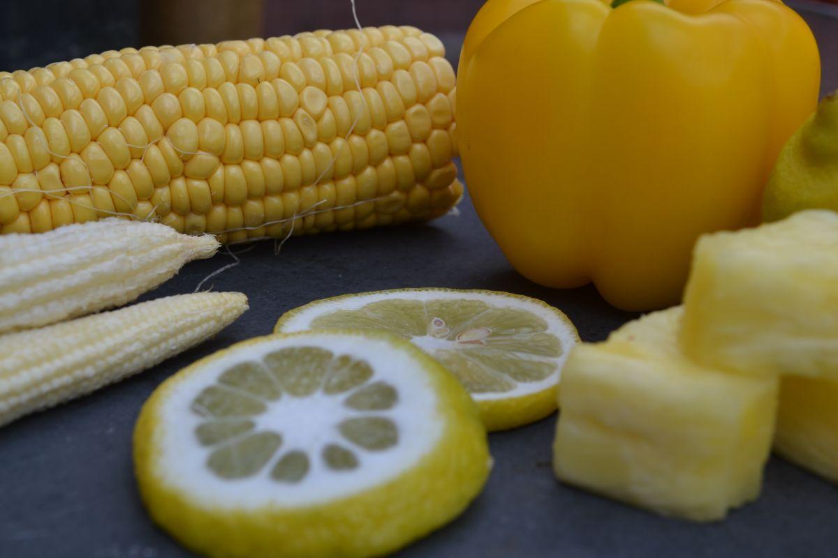 Жълти храни (плодове и зеленчуци)